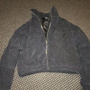 PLT black puffy winter coat